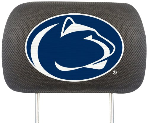 Fanmats NCAA Penn State Nittany Lions Polyester Head Rest Cover by Fanmats