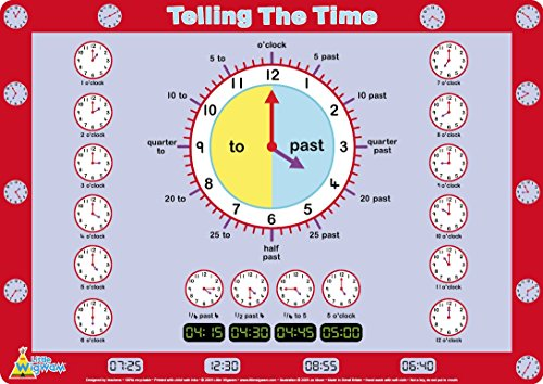 Little Wigwam Telling Time Placemat product image