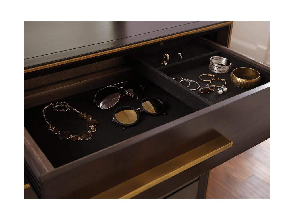 Scott Living 215713 Ingerson 8-Drawer Dresser, Smoked Peppercorn by Scott Living (Image #7)
