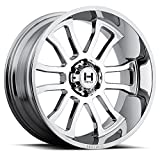 #8: HOSTILE Gaunlet Chrome Wheel with Chrome Finish (20x10, 6x5.5/6x139.7mm, 19mm offset)