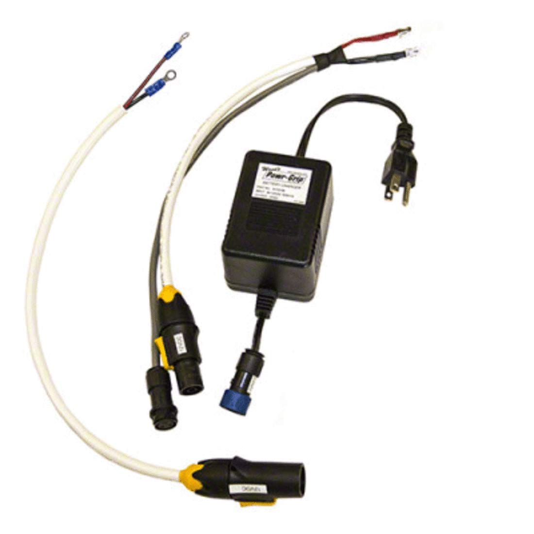 CRL W93601 Wood's 110 Volt Charger and Plug Connection Kit