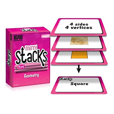 EAI Education Math Stacks Geometry Game: Grades 1-2: Toys & Games