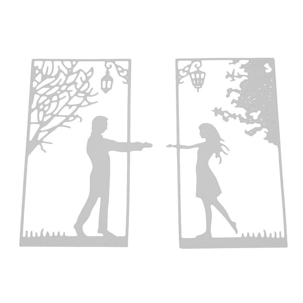 Plantillas de metal para manualidades con diseño de flores de Halloween de Winkey, acero al carbono, Women and Men, medium: Amazon.es: Hogar