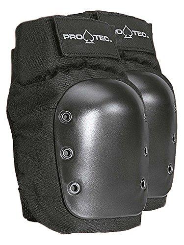 Pro-Tec Street Knee Pad, Black, - Skate Park Helmet