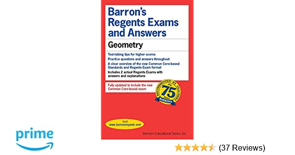 Bestseller: Geometry Regents Exam Answer Keys