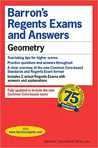 Regents Exams And Answers Geometry Barron S