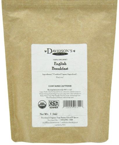 Davidson's Tea Bulk, English Breakfast, 16 Ounce