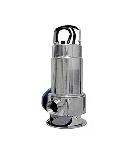 Mercagas - Bomba aguas fecales CSP750//FX751SS inox.