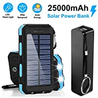 Bundle Pack Best Gift 25,000mAh Solar Ch...
