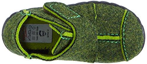 Superfit HAPPY - pantuflas sin forro de fieltro para niños Verde (FANGO 30)
