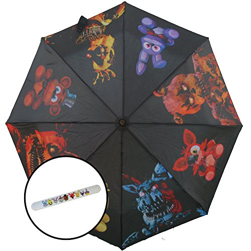 [Five Nights at Freddys Rain Umbrella with Bracelet] (Five Nights At Freddys Costume Mangle)
