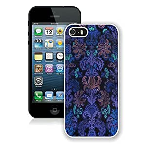 Colorful Damask 1 Iphone 5 5s Case White Cover by runtopwell