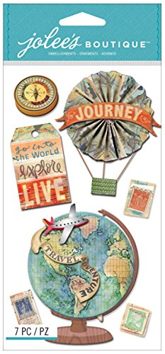 Jolee's Boutique Dimensional Stickers, Map ()