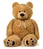 5 foot bear - Jumbo Teddy Bear 5 Feet Tall - Tan