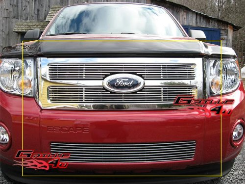 APS Fits 08-12 2011 2012 Ford Escape Billet Grille Grill Combo Insert #F67828A