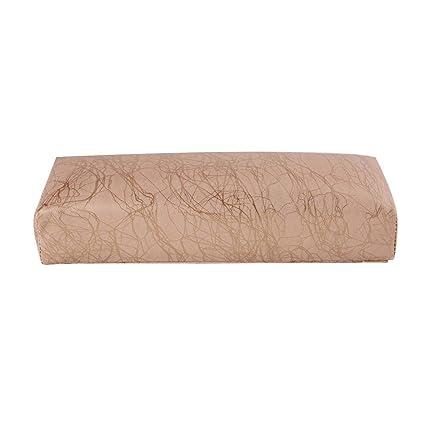 Almohada de manicura, almohada y cojín de cuero suave para ...
