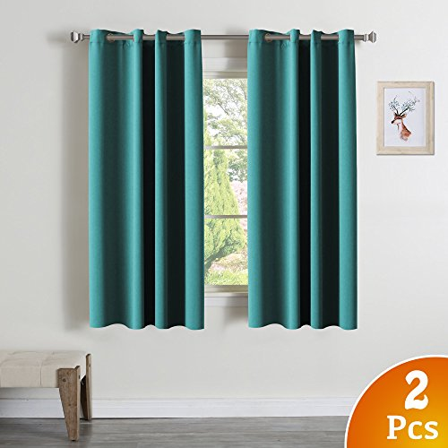 Turquoize Blackout Darkening Grommet Curtains product image