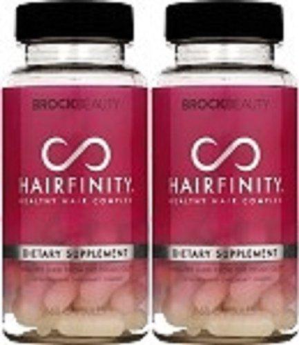 2 месяца Hairfinity Витамины Здоровые волосы Rapid продолжительного роста волос - комплект из 2 - 60 капсул в бутылки