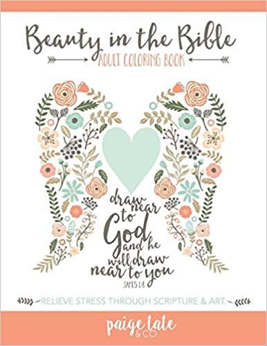 Amazon.com: Beauty in the Bible: Adult Coloring Book ...