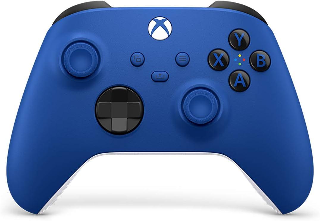 Manette Xbox Shock Blue  en promotion