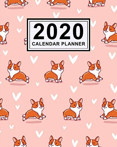 Corgi-Daily-Planner-2020-Corgi-2020-Daily-Weekly-a-Monthly-Calendar-Planner-January-to-December-110-Pages-8×10