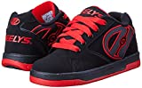 Heelys Propel-K Skate Shoe Black/Red, 7 M US Big Kid