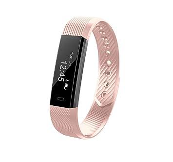 Pulsera elegante para hombres, Relojes digitales, Rastreador de ejercicios, Rastreador de actividades, Relojes inteligentes para hombres Mujer con Podómetro ...