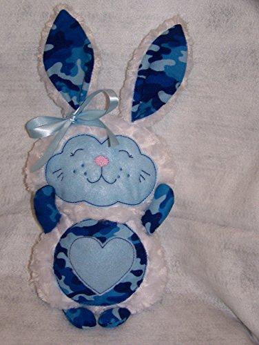 Bunny Camo (Blue & White Camo Easter Bunny)