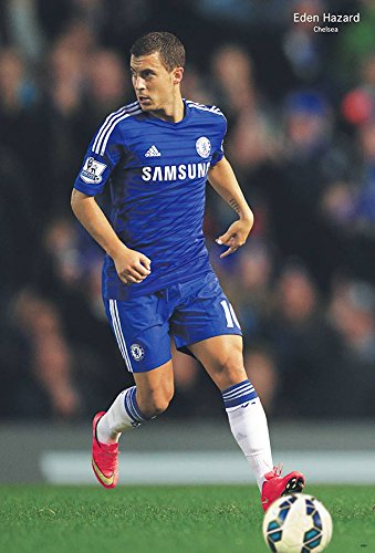 Eden Hazard Chelsea F.C. 2014 - 2015 Football Soccer Sport Wall Decoration Poster