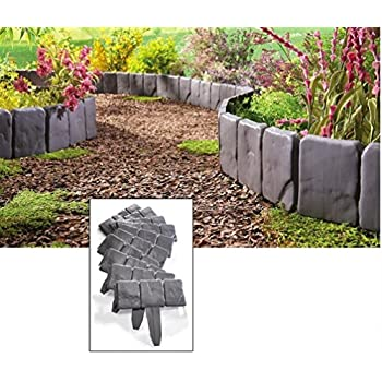 Amazon Com Set Of 4 Stone Pebble Garden Path Mats