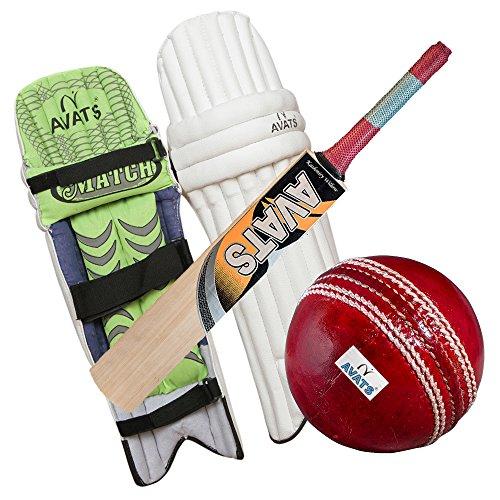 Avats New Cricket Kit Combo Set of Pad Bat Ball
