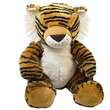 Amazon Com Wishpets 15 Sitting Tiger Plush Toy Toys Games