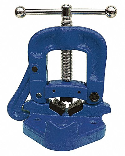 Bench Yoke Vise, 1/8 to 2'' Pipe Capacity