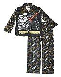 Lego Star Wars Boys 2Piece Coat Pajama Set (8) , First Order Black