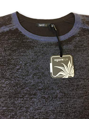 Lux Cotton In Knitwear Agave 'robson' Size And Brown Blue M BwAPvq