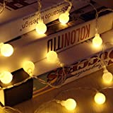 Wall of Dragon New 1.5M 3M 6M Fairy Garland LED Ball String Lights Waterproof For Christmas Tree Wedding Home Indoor Decoration Battery Powered