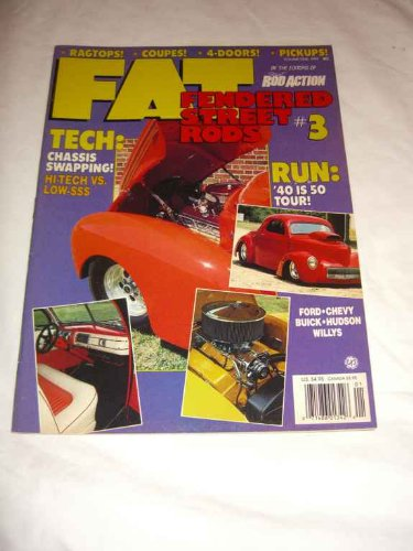 (Fat Fendered Street Rods V. 1 #3 1991 Chassis Swapping)