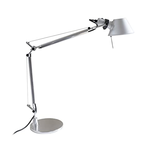 MODO TL 05 Silver Color Office Desk Lamp Polished Aluminum Lights