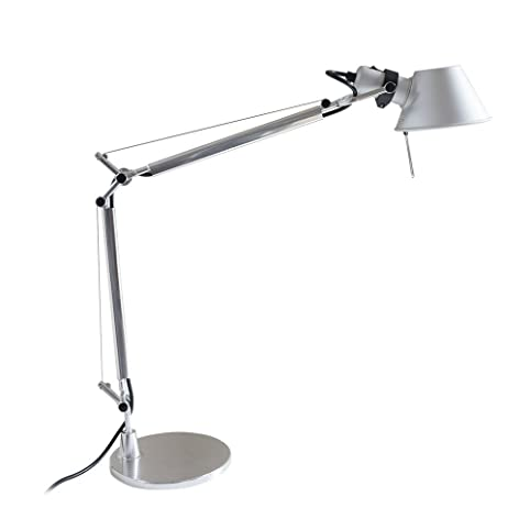MODO TL-05 Silver Color Office Desk Lamp Polished Aluminum Lights - MODO TL-05 Silver Color Office Desk Lamp Polished Aluminum Lights
