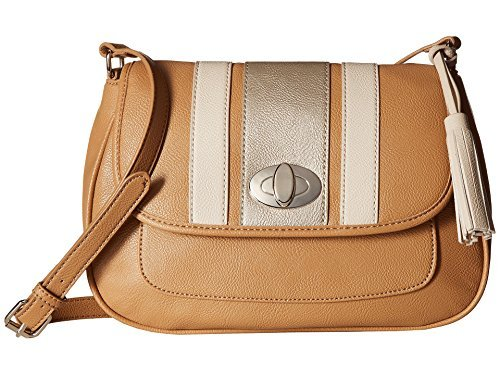 - Nine West Women's All Casual Dark Camel/Shimmer Silver/Natural Handbag