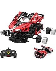 RASTAR RC Car Kits to Build, 1/18 Ferrari FXX-K EVO RC Car Assembly Building Kit with Remote, 92pcs DIY, STEM Kits for Kids Ages 8+
