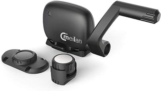 Crispsound Tacómetro inalámbrico para Bicicleta Meilan M4 con Sensor de Velocidad de cadencia Bluetooth 4.0 y pulsómetro Deportivo: Amazon.es: Hogar