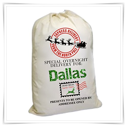 Personalized EXTRA LARGE Santa Bag 24