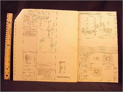 1977 77 ford granada & mercury monarch electrical wiring diagrams manual  ~original loose leaf – january 1, 1977