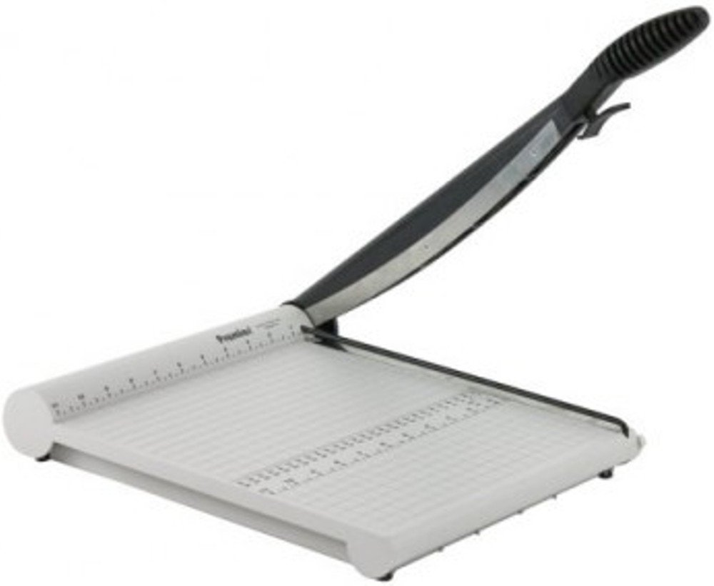 Martin Yale P212X Premier PolyBoard Paper Trimmer, Up To 10 Sheets of 20 Pound Bond Paper at Once, Cuttin Lenght up To 18'', Permanent 1/2'' Grid, Dual English and Metric Rulers Ensure Proper Alignment by Martin Yale (Image #2)