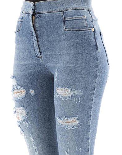 Blu Jeans Cotone Donna 115421133kc3140 Balmain IxwBZ1AqB