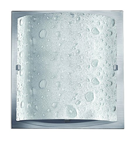 (Hinkley 5920BN Contemporary Modern One Light Bath from Daphne collection in Pwt, Nckl, B/S, Slvr.finish,)