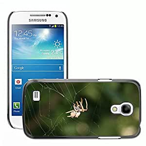 Hot Style Cell Phone PC Hard Case Cover // M00115471 Spider Web Insect Bugs Nature // Samsung Galaxy S4 Mini i9190