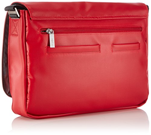 Bag Rojo BREE Bolso 62 de Unisex Punch Red 152 Collection Shoulder Blue Hombro v46XvR