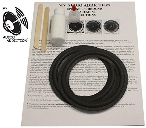 Speaker Surround Repair Kit For Infinity SS-2001 / Sterling Center 5 - Sterling Center